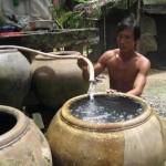 Không nên sử dụng trực tiếp nước giếng khoan