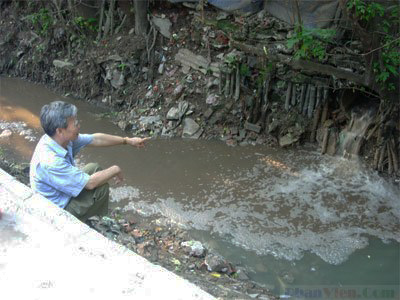 Nước thải ô nhiễm