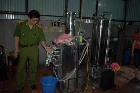 """Dây chuyền sản xuất nước tăng lực nhãn hiệu """"STINHP"""""""