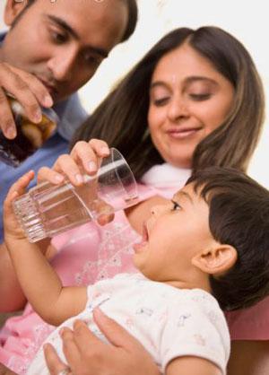 Nguồn nước an toàn dành cho bé