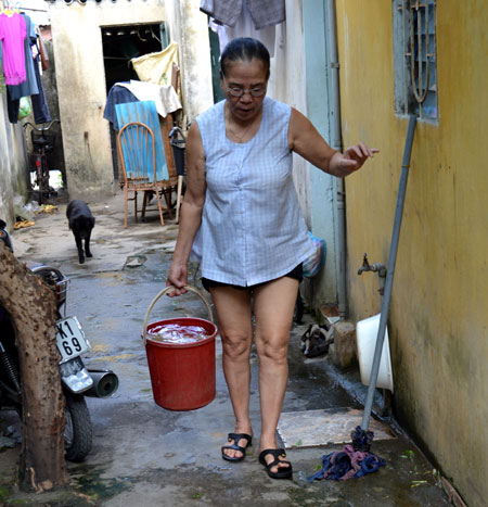 Xí nghiệp nước sạch đống đa hành xử kiểu độc quyền
